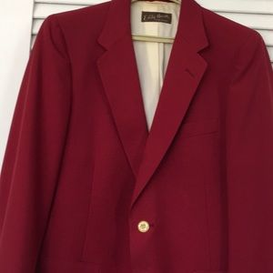 LANVIN Fine Vintage Red Coat